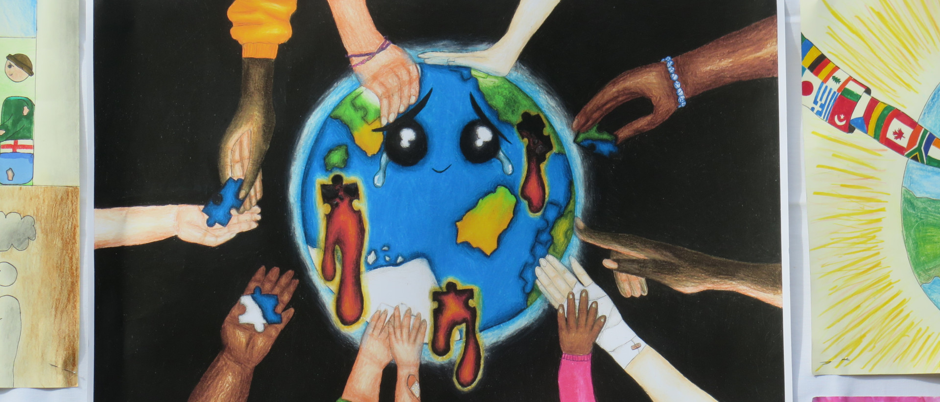 Logo Friedensplakatwettbewerb